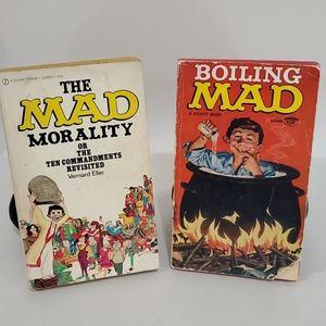 Mad paperback joke books